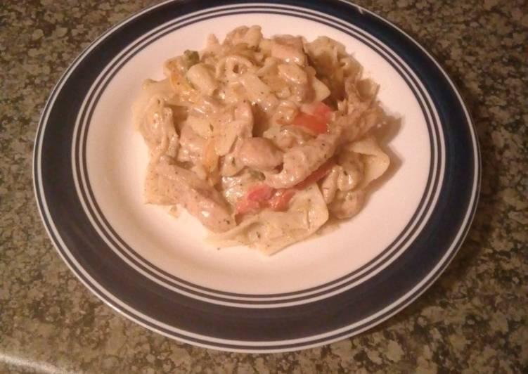 Mmoni's tasty pasta