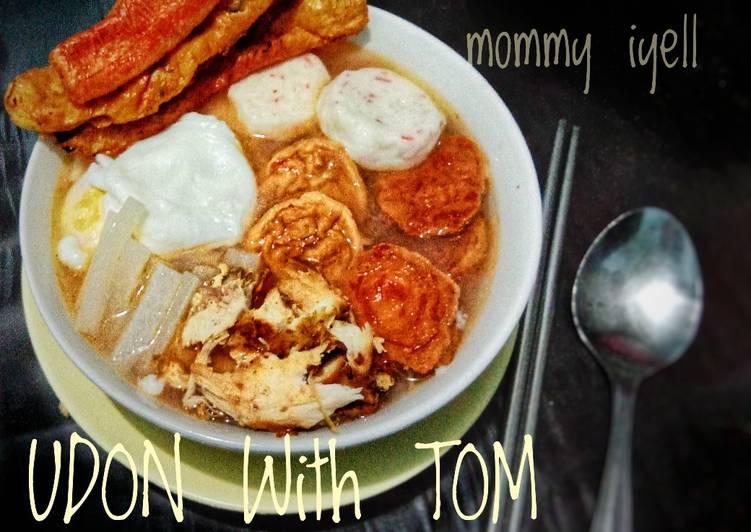 Udon w/tom yam soup