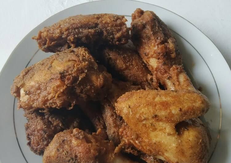 Ayam Crispy Kulit Tipis
