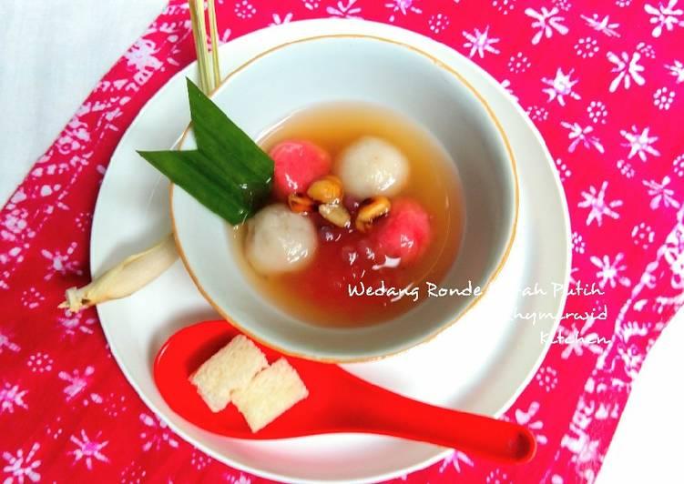 Wedang Ronde Merah Putih Kacang Tanah