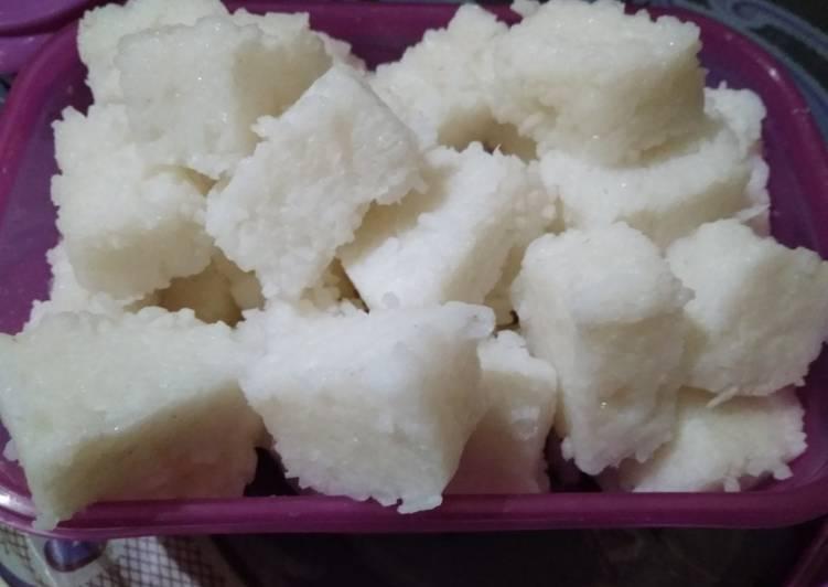 Lontong Rice cooker (tanpa daun pisang tanpa plastik)