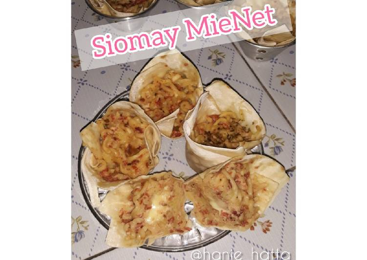 Siomay MieNet (Mie Kornet)