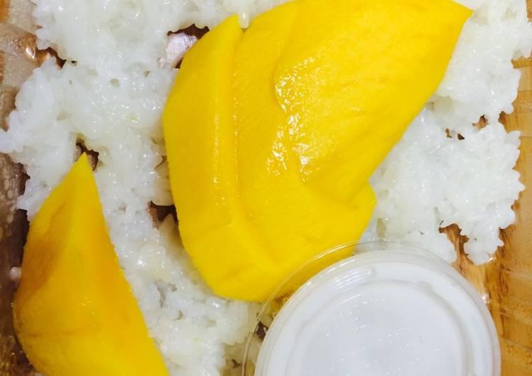Condense rice mango