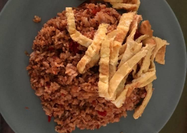 Nasi Goreng favorite, enak simple dan praktis