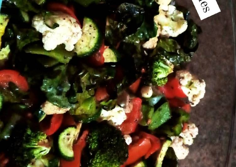 Recipe of Quick Microwave grilled vegetables