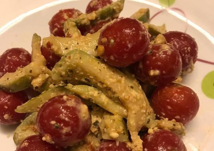 Cherry Tomato & Guava in Cheese & Oregano