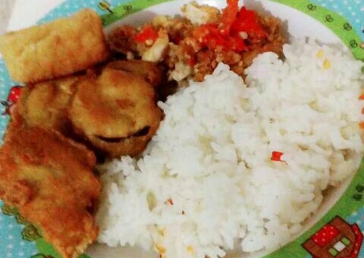 Ayam Geprek Simple 5 minutes