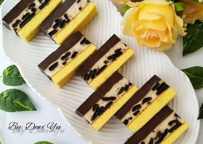 Resep Puding Busa Cake oleh Dewi Yu - Cookpad