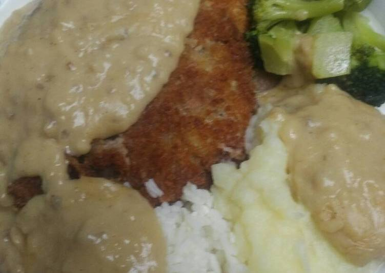 Easiest Recipe: Tasty Buttermilk Chicken Fried Steak