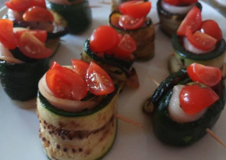 Recipe of Award-winning Swordfish And Zucchine Rolls