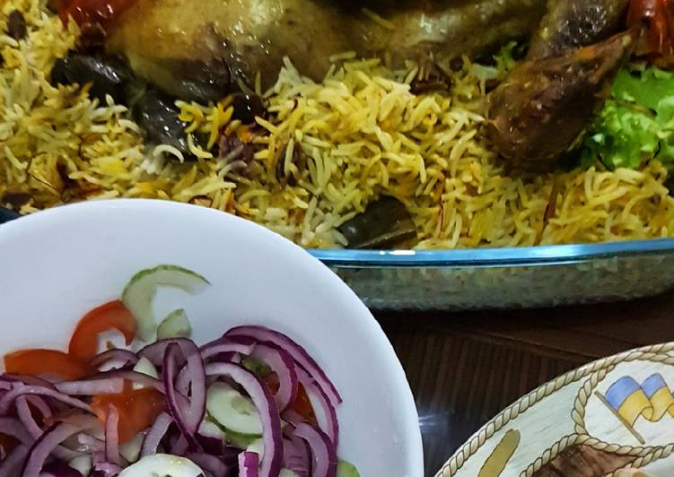 Resep Nasi Briyani Ayam yang Lezat