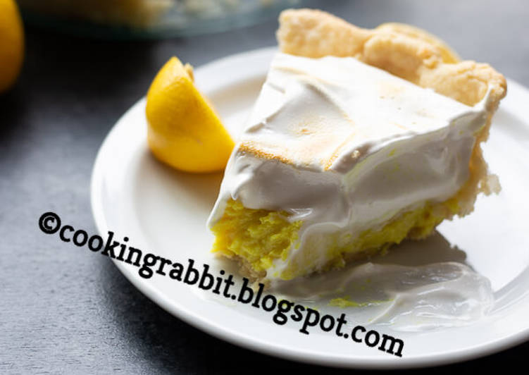 How to Make Homemade Pie lemon