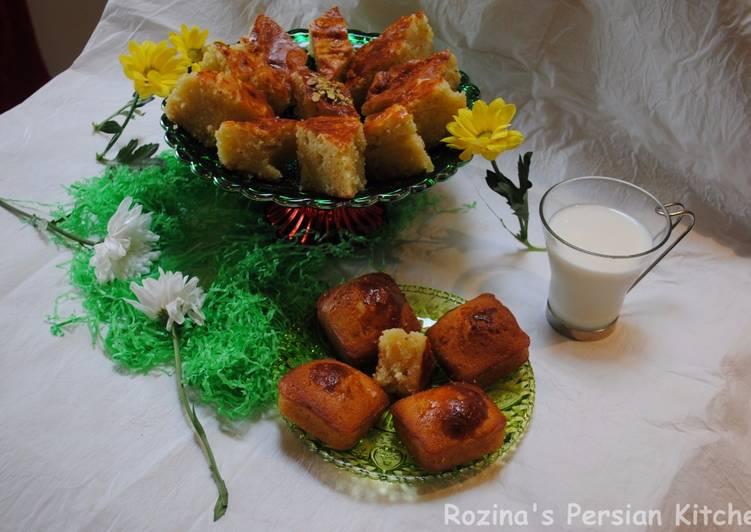Golden syrup cake (Baklava cake)