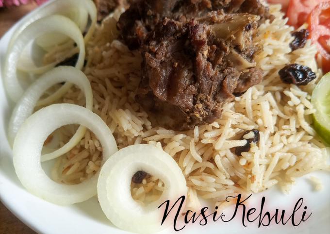 Resep Nasi kebuli kambing Sederhana Untuk Jualan