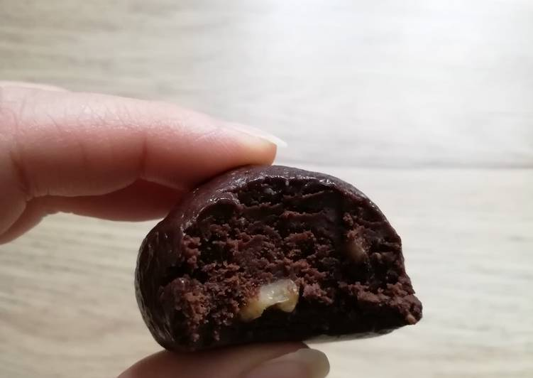 Energy balls vegan (crue/gluten free) chocolat et peanut butter