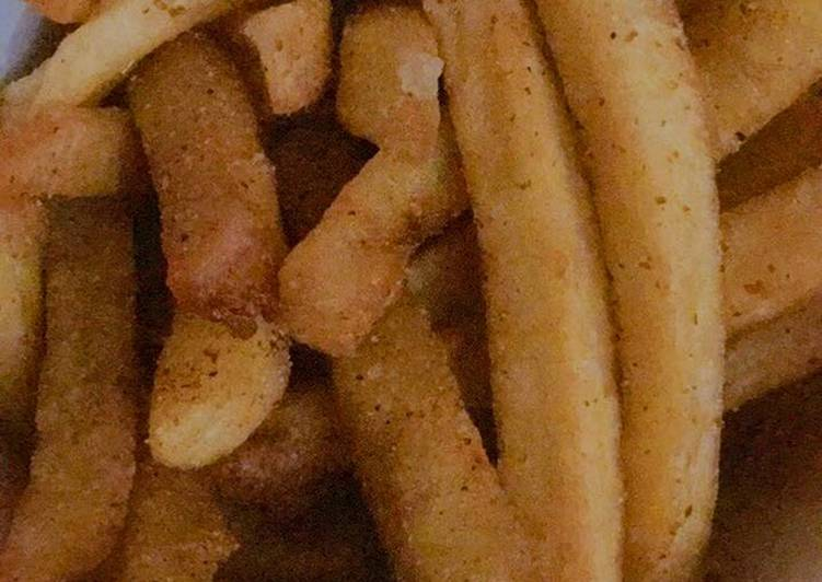 Recipe of Delicious Homemade French Fries