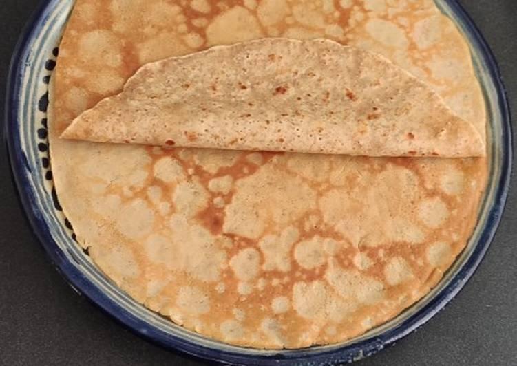 Crêpes à la farine complète