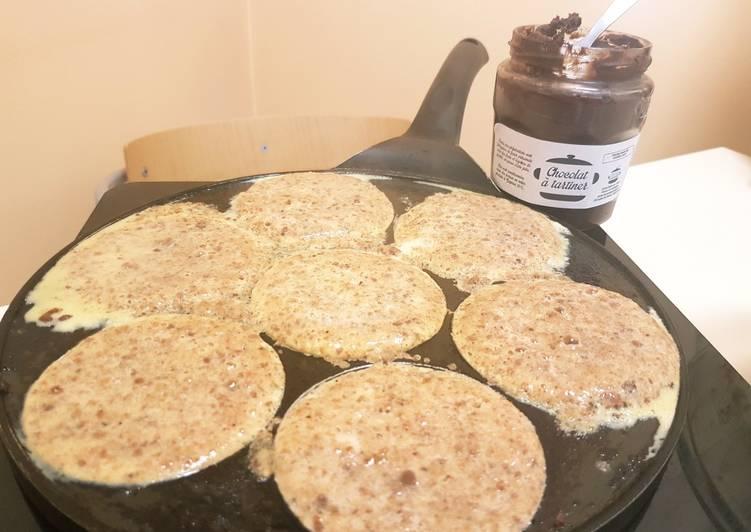 Pancake à la chapelure de pain