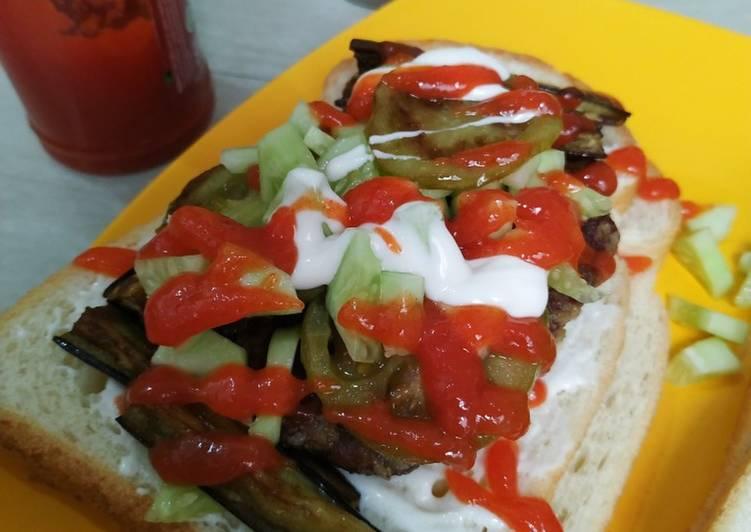 Resep Sandwich Patty Ala Ala Bikin Ngiler