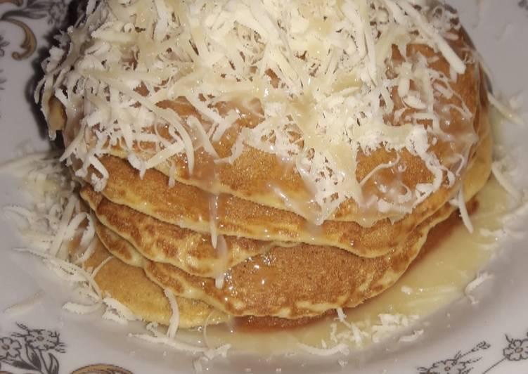 Pancake keju susu