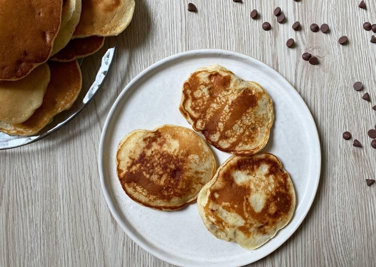 Recette Savoureux Pancakes à la banane