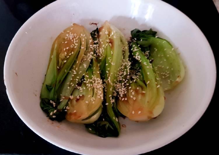 My Sesame Pak Choi Ginger + Smoked Garlic. ?