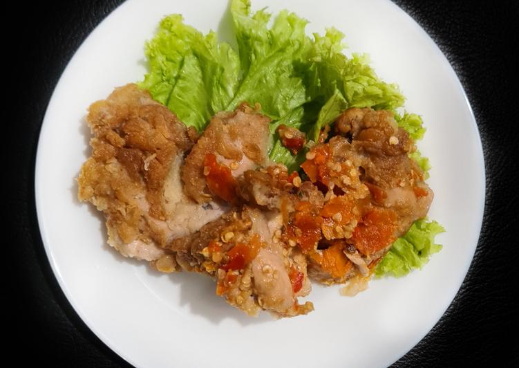 Ayam Geprek Simple Renyah