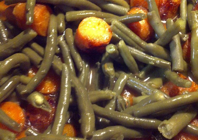 Butter Carrots and Green Beans