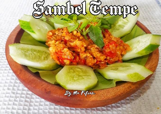 sambal tempe - resepenakbgt.com