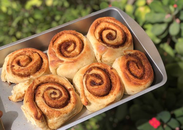Recipe of Super Quick Homemade Cinnamon rolls