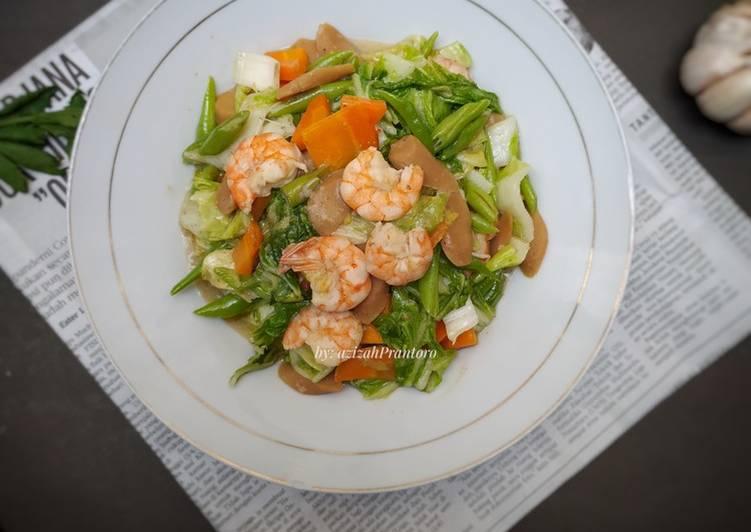 Tumis sayuran sehat