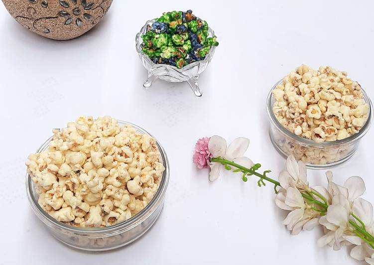 How to Make Favorite Milky pop corn 🍿