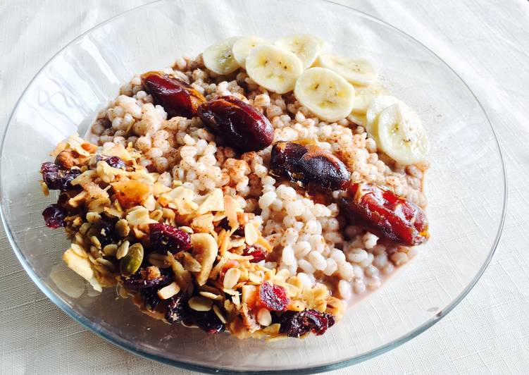 Consuming This 7 Superfoods Is A Great Way And Be Healthy, Pearl Barley Porridge Sugar Free