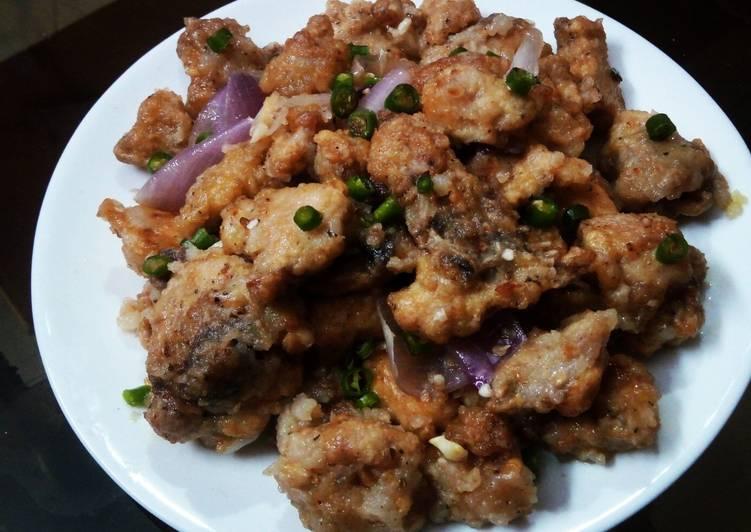 Hot chilli garlic chicken