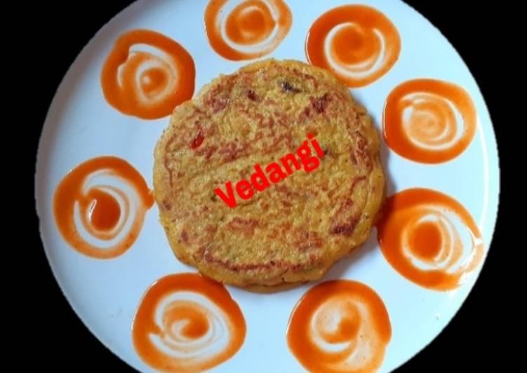 25 Minute Easiest Way to Make Refreshing Jowar and Wheat Flour Pancakes