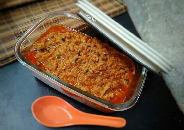 Resep Tumis Ayam Giling (untuk isian Pao/Roti) Bikin Jadi Laper