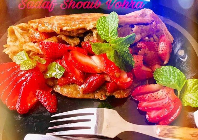 Quick and Easy Recipe: Perfect Banana Oats pancakes #CookpadFruits #CookpadRamadan