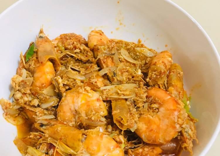 6. Udang saus padang - cookandrecipe.com