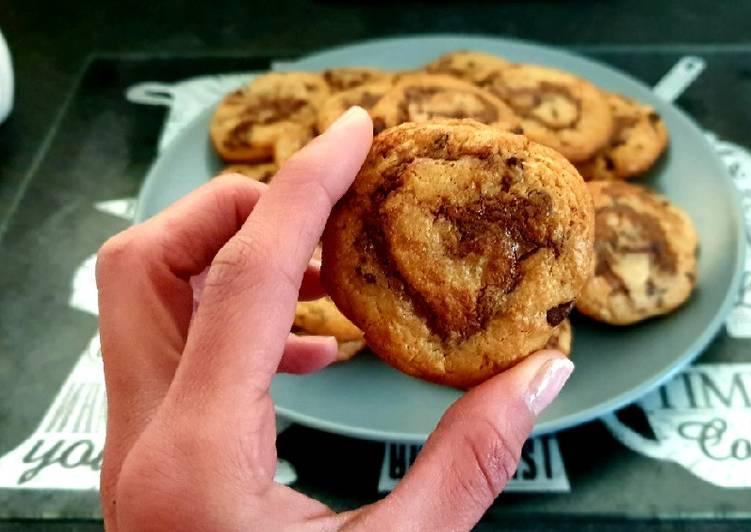 Cookies façon roulé au Nutella 🍪👍💕
