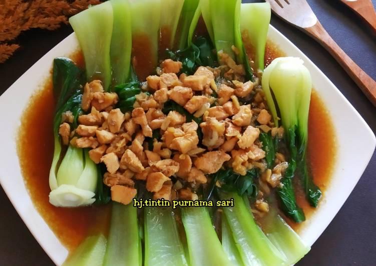 Pakcoy Ayam Saus Tiram