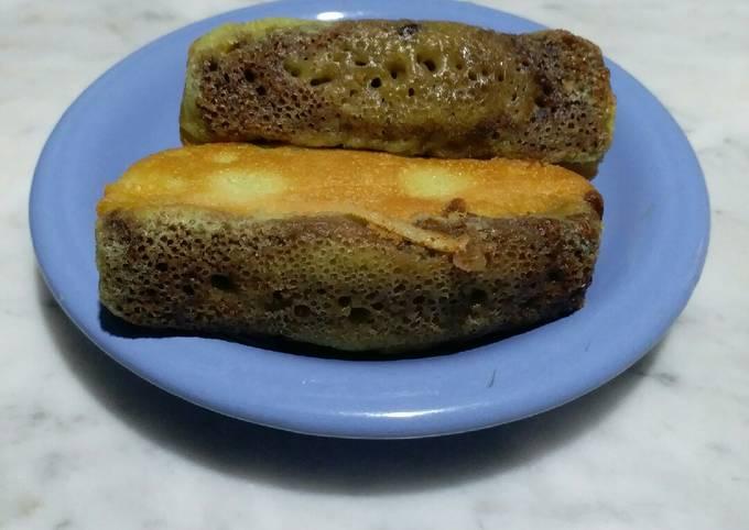 Resep Kue pukis pandan coklat gluten free enak banget, Enak