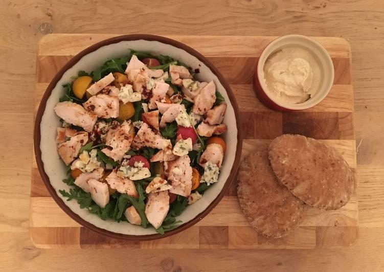 Chicken & Blue Cheese Salad