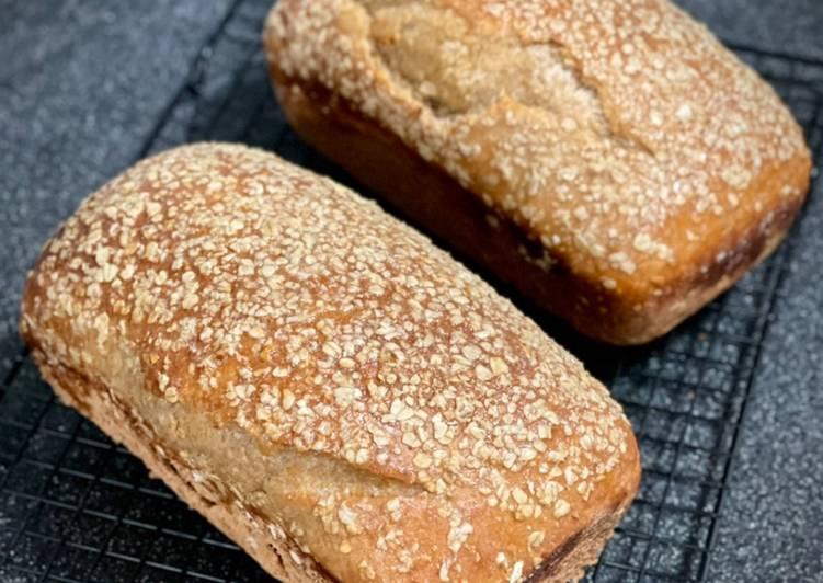 Buttermilk Honey Oat Sourdough Loaf