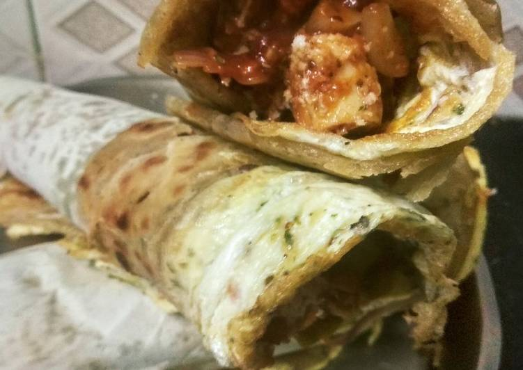 Italian style egg sausage roll