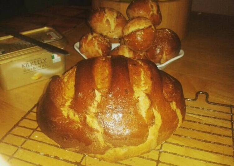 Almond & orange chilly white loaf or rolls