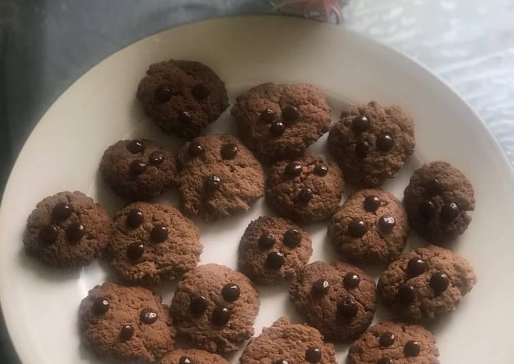 Cookis Bubur Sun coklat
