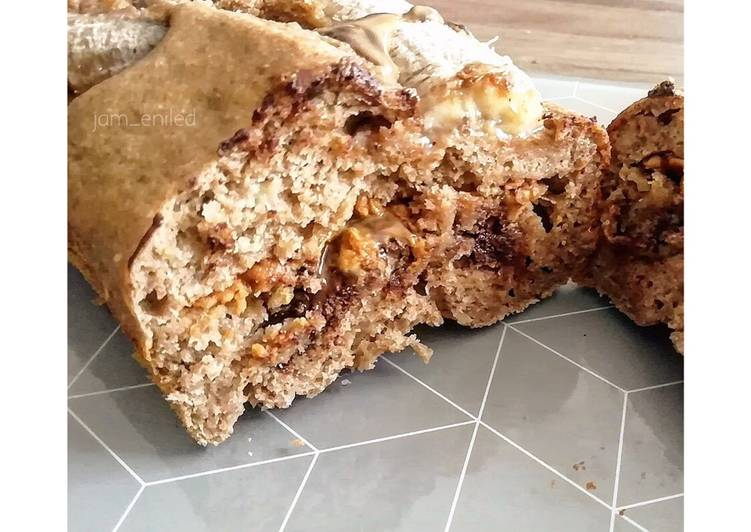 Banana breaks cœur fondant peanut butter et chocolat 🍫