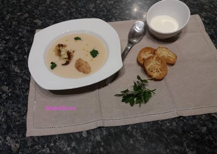 Recette: Appétissant Soupe de chou-fleur