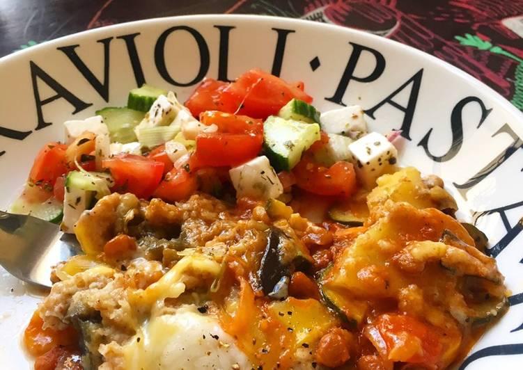 Recipe of Award-winning Vegan Moussaka 🇬🇷