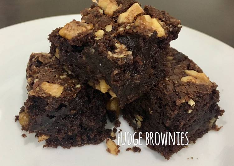 Fudge Brownies (extra dark chocolate)